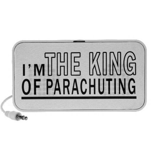 I'm The King Of Parachuting iPhone Speakers