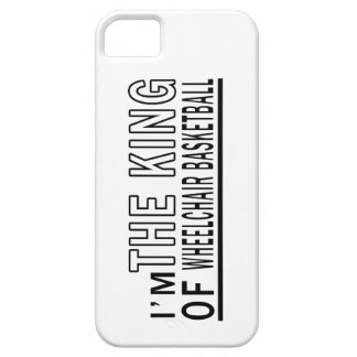I'm The King Of Wheelchair Basketball iPhone 5 Cover