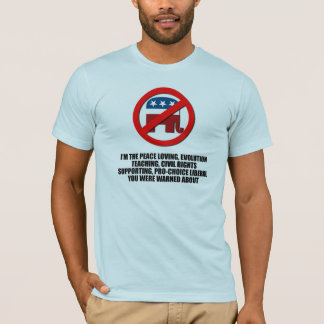 I'm the liberal you were warned about T-Shirt