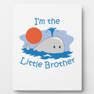 IM THE LITTLE BROTHER DISPLAY PLAQUE