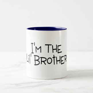 Im The Little Brother Two-Tone Mug