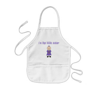 Im The Little Sister Kids Apron