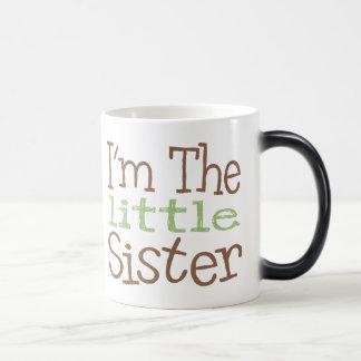 I'm The Little Sister (Green) Morphing Mug