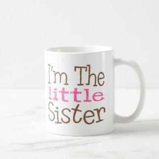 I'm The Little Sister (Pink) Basic White Mug