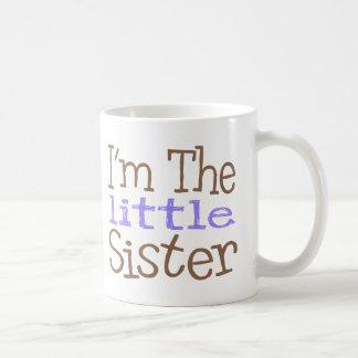 I'm The Little Sister (Purple) Basic White Mug