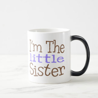 I'm The Little Sister (Purple) Morphing Mug