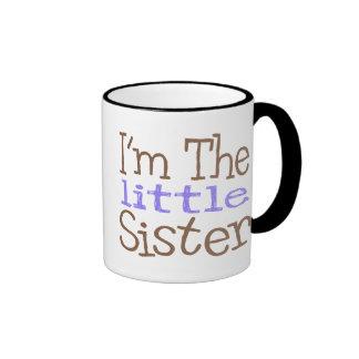 I'm The Little Sister (Purple) Ringer Mug