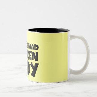 I'm the mad chicken lady mug