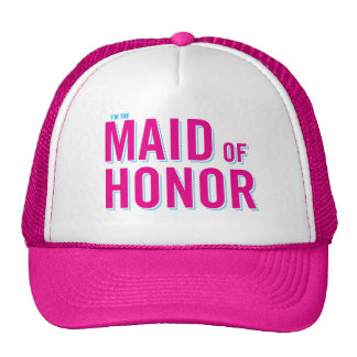 I'm the Maid of Honor Mesh Hats