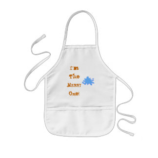 I'm The MESSY One! Kids' Apron