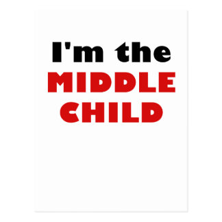 Im the Middle Child Postcard