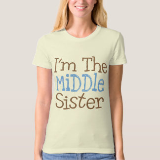 I'm The Middle Sister (Blue) T-Shirt