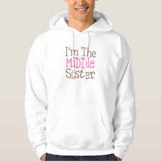 I'm The Middle Sister (Pink) Hoodie