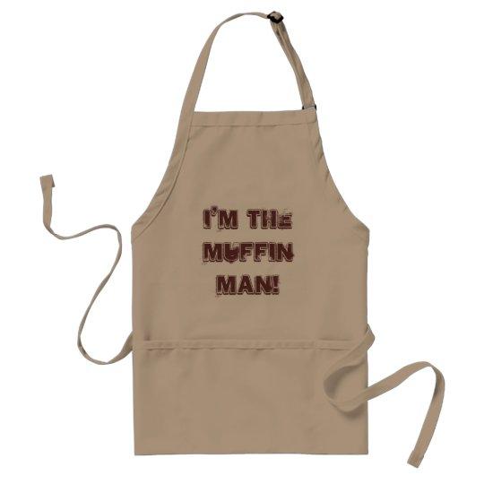 I'm the muffin man! standard apron