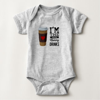 I'm the Reason Mommy Drinks Baby Bodysuit