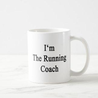 I'm The Running Coach Classic White Coffee Mug