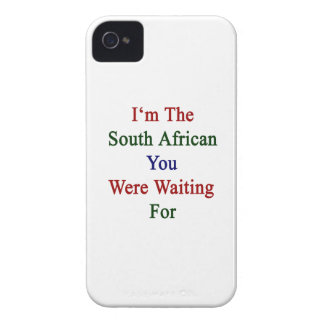 I'm The South African You Were Waiting For iPhone 4 Case-Mate Case