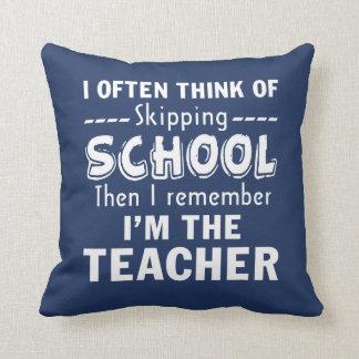 I'm the Teacher Cushion