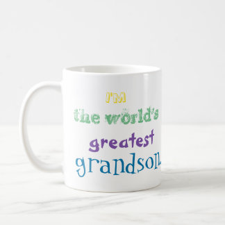 I'm the world's greatest grandson. mug