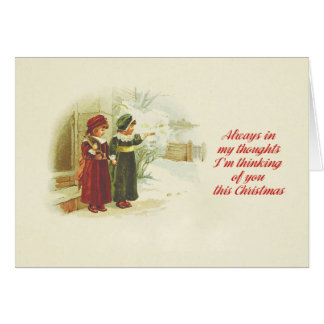 I'm thinking of you this Christmas Card