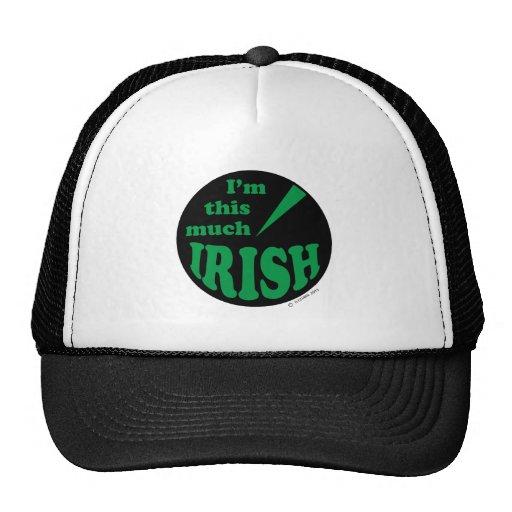 I'm This Much Irish Hats