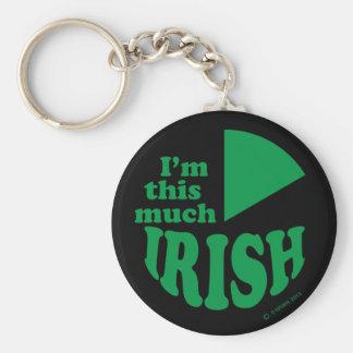 I'm This Much Irish Key Chains