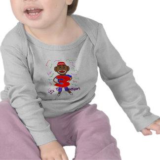 I'm Three, Birthday Sock Monkey--Adorable T-shirts