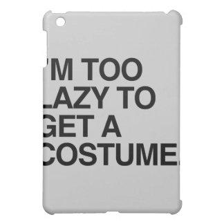 I'M TOO LAZY TO GET A COSTUME iPad MINI CASE