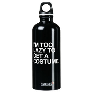 I'M TOO LAZY TO GET A COSTUME SIGG TRAVELLER 0.6L WATER BOTTLE
