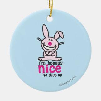 I'm Totally Nice Christmas Ornament