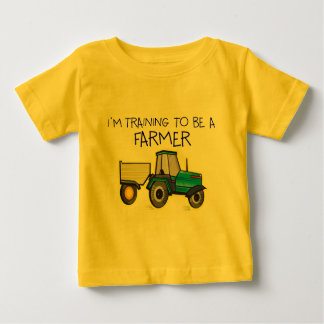 I'm Training To Be A Farmer Baby T-Shirt