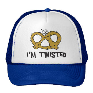 I'm Twisted Pretzel Hats