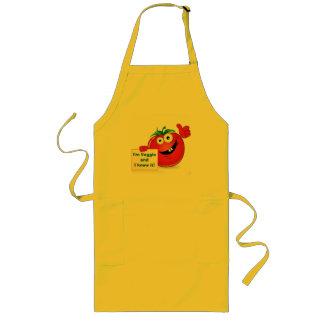 I'm Veggie and I know it (Tomato) Yellow Apron