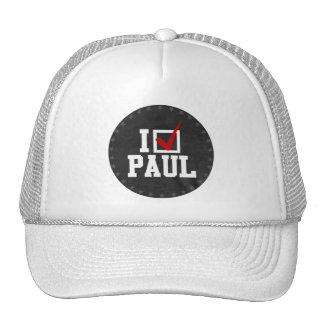 I'M VOTING FOR RON PAUL (white) Cap