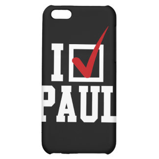 I'M VOTING FOR RON PAUL (white) iPhone 5C Case