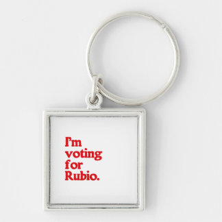 I'M VOTING FOR RUBIO KEY CHAINS