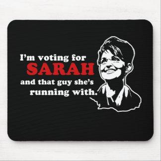 I'm voting for Sarah mousepad