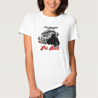 I'm voting for the Pit bull T-shirt