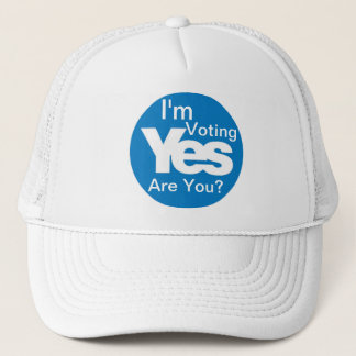 I'm Voting Yes cap