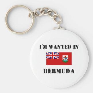 I'm Wanted In Bermuda Key Ring