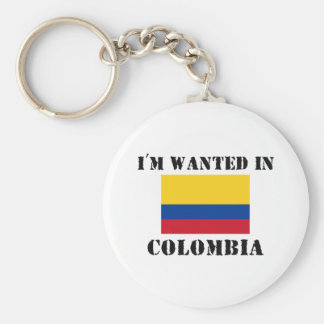 I'm Wanted In Colombia Key Ring