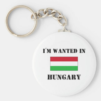 I'm Wanted In Hungary Key Ring