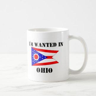 I'm Wanted In Ohio Basic White Mug
