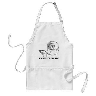 I'm watching you - meme apron
