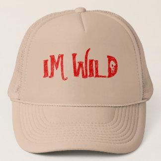 IM WILD TRUCKER HAT