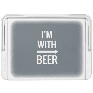 I'm With Beer Igloo Cool Box