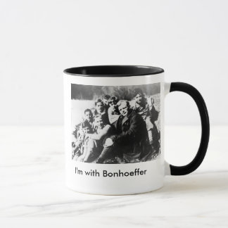 I'm with Bonhoeffer Mug