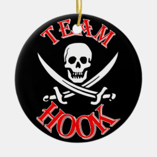 I'm with Captain Hook Christmas Ornament