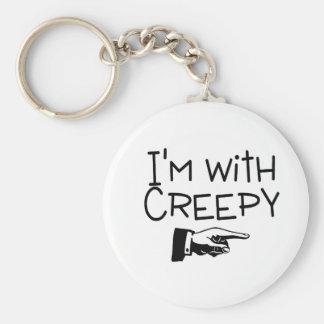Im With Creepy Key Ring