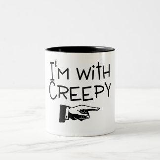 Im With Creepy Coffee Mugs